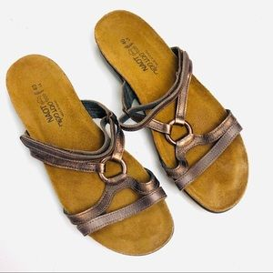 Naot Leather Comfort Sandal 9